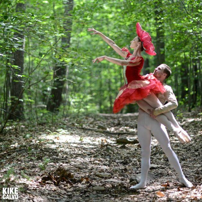 Melissa Weber & Marcos Vedoveto, CT Ballet dancers